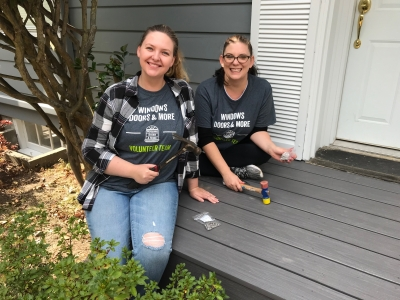 WDM Team Volunteers with Rebuilding Together Seattle